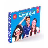 Бумажные очки Crazy Glasses для вечеринок DYGLASSCR
