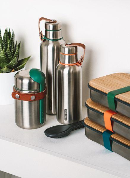 Термос  для горячего Food Flask бирюзовый BAM-FF-S005