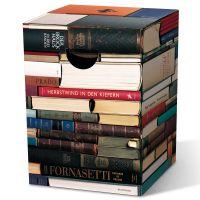Табурет картонный сборный Bookworm PH09
