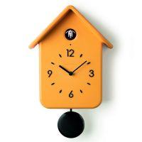 Часы с кукушкой QQ жёлтые 168602165