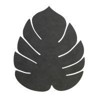 Салфетка подстановочная LINDDNA NUPO черный лист монстеры 42x35 см 990072