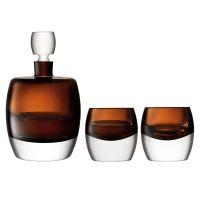 Набор для виски Whisky Club коричневый G1536-00-866