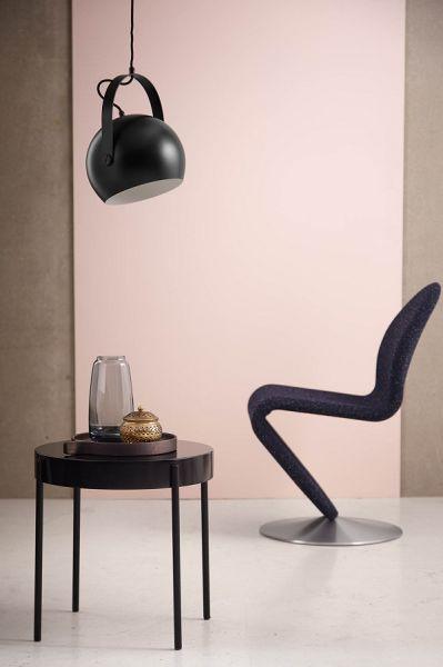 Лампа потолочная ball с подвесом, ?40 см, черная матовая 150465011