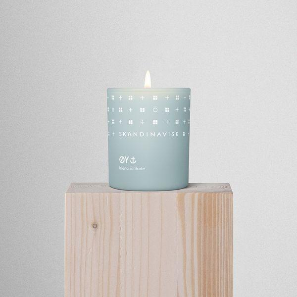 Свеча ароматическая oy с крышкой, 65 г (новая) SK20202