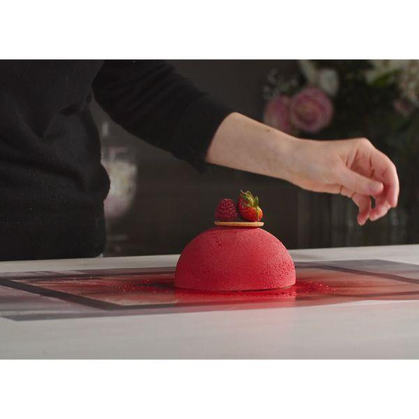 Форма для приготовления тортов dome 19,8 х 22,7 см силиконовая