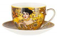 Чашка с блюдцем Адель (Г. Климт), 0,26 л Carmani CAR2-532-8205