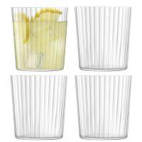 Набор из 4 стаканов Gio Line 390 мл LSA International G060-13-304