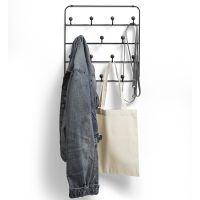 Органайзер для аксессуаров estique с надверными креплениями черный орех 1004045-048