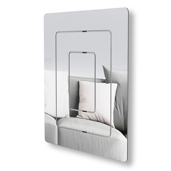 Зеркало настенное echo 64 x 54 см 1016326-165