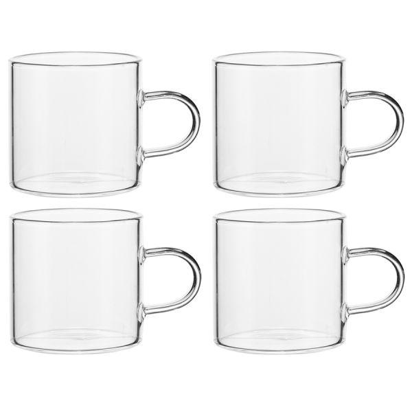 Чайный набор из чайника и 4 чашек ZQ-TS1000_0