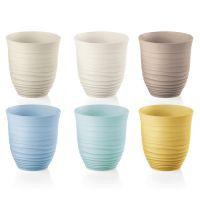Набор из 6 стаканов tierra 350 мл разноцветный 17950352