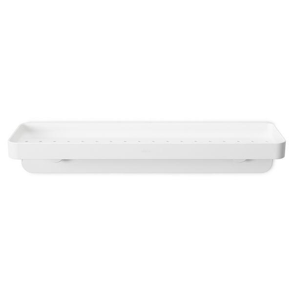 Полочка для душа Flex прямоугольная белая Umbra 1013862-660