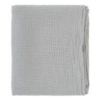 Одеяло из жатого хлопка серого цвета из коллекции essential 90x120 см TK20-KIDS-BLK0002