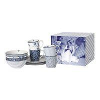 Набор посуды из 12 предметов Laura Ashley 180341