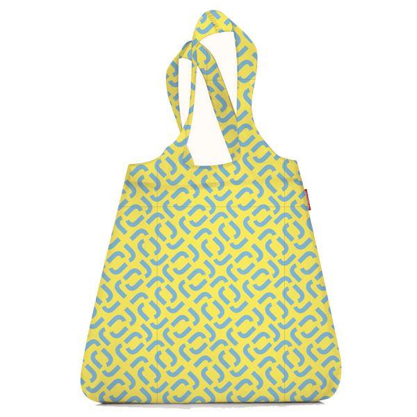 Сумка складная mini maxi shopper signature lemon AT2030