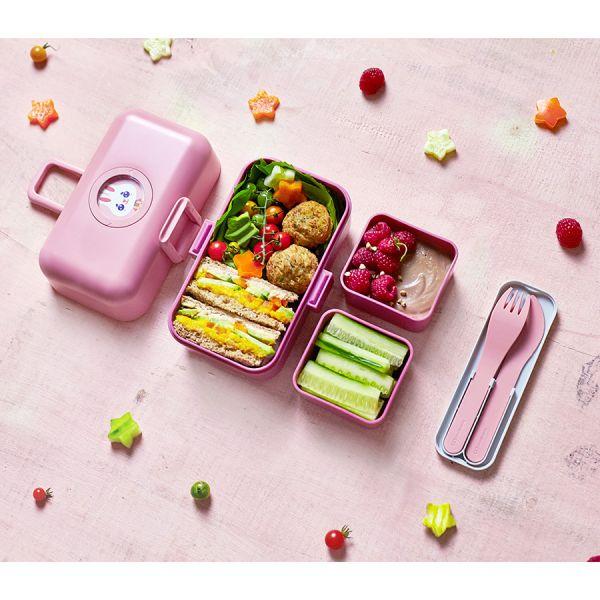 Набор из 3 столовых приборов в футляре mb pocket color blush 24050029
