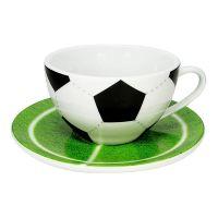 Чайная пара капучино 'Футбол' Koenitz *17 5 730 0088