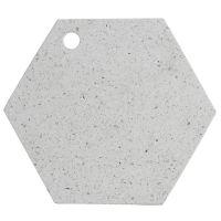 Доска сервировочная из камня elements hexagonal 30 см 1401.044V