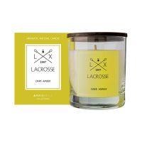 Свеча ароматическая в стекле круглая lacrosse Амбра 40 ч VV040ASLC