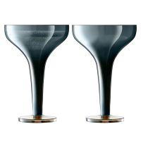 Набор из 2 бокалов для шампанского signature epoque 150 мл, сапфир G1660-05-140
