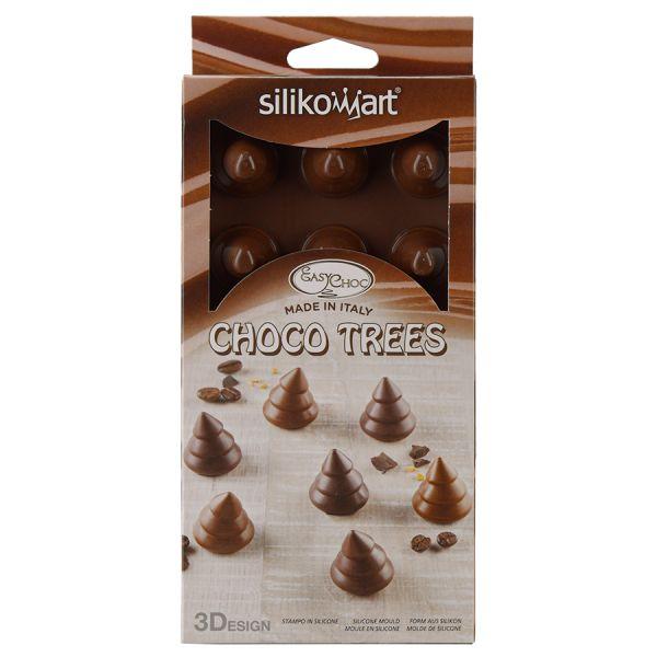 Форма для приготовления конфет choco trees силиконовая
