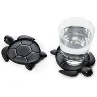 Подставка под стаканы save turtle, черный QL10350-BK