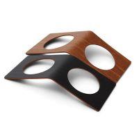 Кольцо для cалфетки LINDDNA BUFFALO черный/светло-коричневый 6x14 см 2 шт 98239