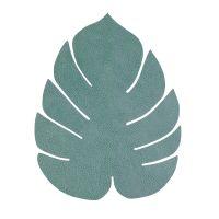 Салфетка подстановочная LINDDNA HIPPO cеро-зеленый лист монстеры 42x35 см 989949