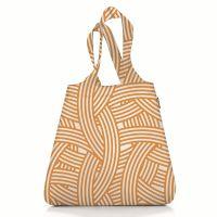 Сумка складная mini maxi shopper zebra orange AT0033O