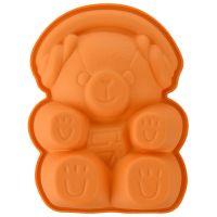 Форма для приготовления пирожного teddy bear 12,5 х 16 см силиконовая