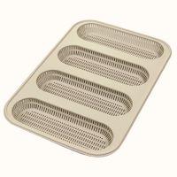 Форма для приготовления мини-багетов mini baguette bread силиконовая