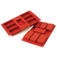 Форма для приготовления пирожных rettangolo силиконовая