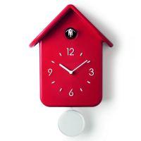 Часы с кукушкой QQ красные 16860255