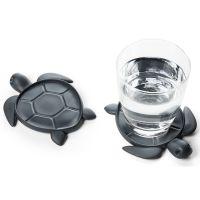 Подставка под стаканы save turtle, темно-серый QL10350-DK-GY