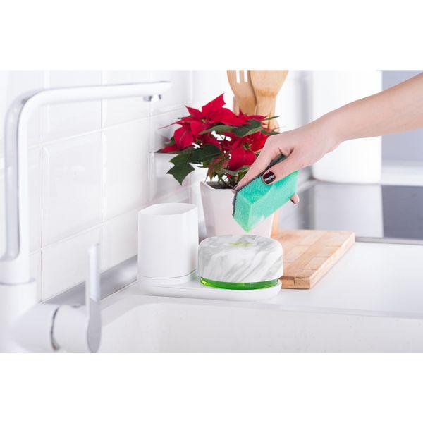 Диспенсер для моющего средства и органайзер bosign, do-dish™, белый/мрамор 263107