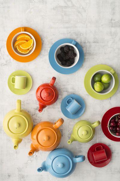 Чайник заварочный bright colours 450 мл красный