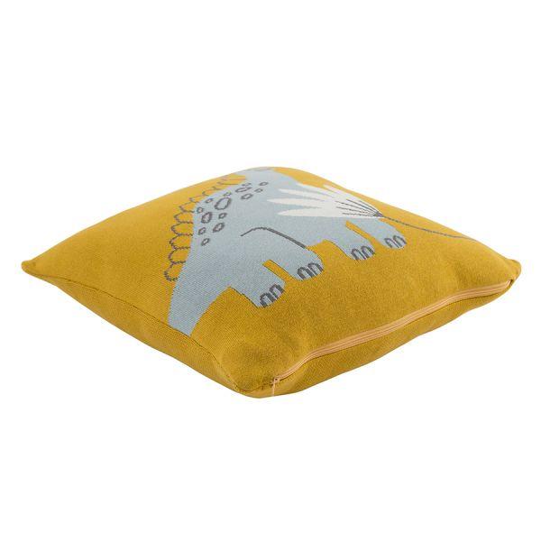 Подушка декоративная Динозавр toto из коллекции tiny world 35х35 см TK20-KIDS-CU0006