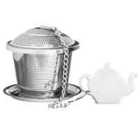 Емкость для заваривания чая с блюдцем P_0056.560