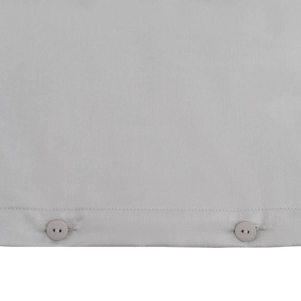 Комплект детского постельного белья из сатина светло-серого цвета из коллекции essential, 100х120 см TK20-KIDS-DC0002