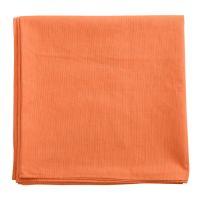 Скатерть на стол из хлопка оранжевого цвета russian north, 170х170 см TK18-TC0005