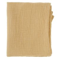 Одеяло из жатого хлопка горчичного цвета из коллекции essential 90x120 см TK20-KIDS-BLK0001
