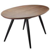 Столик tina, 160/200х90х76 см, орех Berg BETA-TIWA