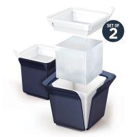 Форма для льда Cube черная ZK153