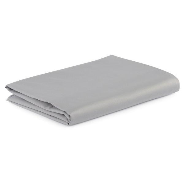 Простыня детская из сатина светло-серого цвета из коллекции essential, 160х270 см TK20-KIDS-SH0008