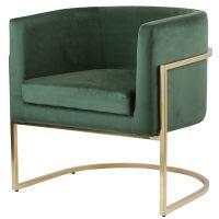 Кресло rufus, темно-зеленое Berg BECH-RU10888