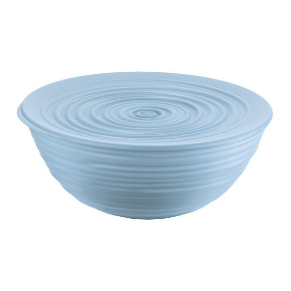 Миска с крышкой tierra 25 см голубая 175002157
