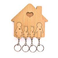 Ключница «Семья с двумя дочками» 1501-43