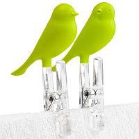 Прищепки Sparrow 4 шт зеленые QL10066-GN