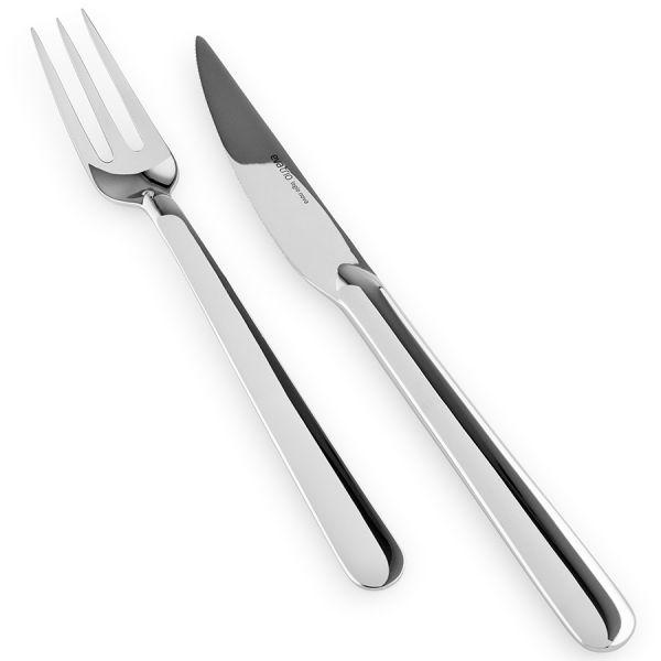 Набор для стейков из 4 вилок и 4 ножей grill flatware nova 551782