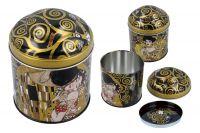 Банка для чая Поцелуй (Г.Климт) Carmani CAR007-2101